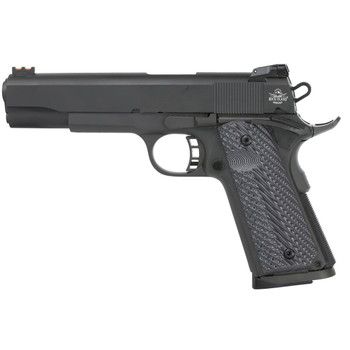"Armscor Rock Island 1911, Full Size Pistol, 45ACP, 5"" Barrel, Alloy Frame, Blue Finish, VZ Tactical Grips, Adjustable Sights, 8Rd 51486, UPC :4806015514862"