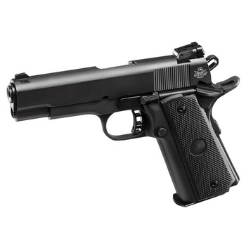"Armscor Rock Island 1911, 22TCM/9MM, 4.25"" Barrel, Alloy Frame, Parkerized Finish, Plastic Adjustable Sights, 17Rd, Convertible Kit for 9MM and 22TCM, Fired Case 51949, UPC :4806015519492"
