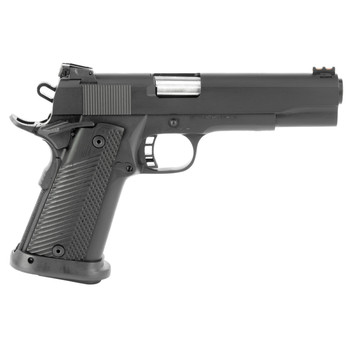 """Armscor Rock Island, Ultra, 1911, Full Size, 10MM, 5"""" Barrel, Steel, Parkerized Finish, G10 Grips, Fixed Sights, 16 Rounds, includes 1 Magazine, Fired Case 52009, UPC :4806015520092"""