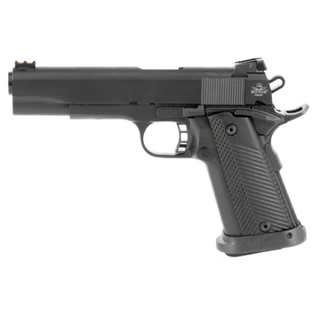 "Armscor Rock Island, Ultra, 1911, Full Size, 10MM, 5"" Barrel, Steel, Parkerized Finish, G10 Grips, Fixed Sights, 16 Rounds, includes 1 Magazine, Fired Case 52009, UPC :4806015520092"