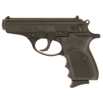 """Bersa Firestorm, Semi-automatic, Double Action, Compact, 380ACP, 3.5"""" Barrel, Alloy Frame, Matte Black Finish, Fixed Sights, Fired Case, 7 Rounds FS380M, UPC : 091664950152"""
