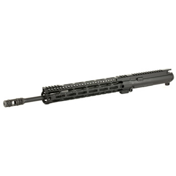 "Midwest Industries Upper, .223 WYLDE, 556NATO, .223, 16"" Nitride Barrel, 1:8 Twist, Light Weight M-Lok Rail, 2 Port MI Muzzle Brake, Black Finish (BCG and Charging handle not included) MI-LW16MN, UPC :816537017462"