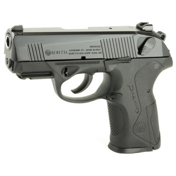 "Beretta PX4 Storm, Semi-automatic, Double Action, Compact Pistol, 9MM, 3.2"" Barrel, Polymer Frame, Black Finish, 15Rd, 2 Mags, Picatinny Rail, Ambidextrous, 3 Dot Sights JXC9F21, UPC : 082442154282"
