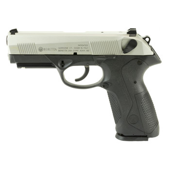 "Beretta PX4 Storm, Semi-automatic, Double Action, Full Size Pistol, 9MM, 4"" Barrel, Polymer Frame, INOX Finish, 17Rd, 2 Mags, Picatinny Rail, 3 Dot Sights JXF9F51, UPC : 082442157962"