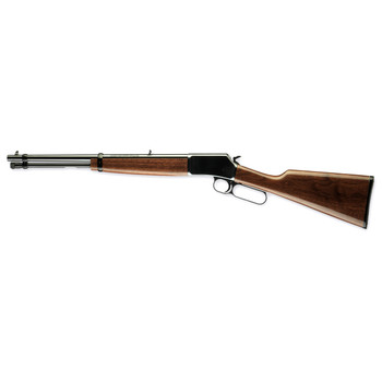 """Browning BL-22, Micro Midas, Lever Action, 16.25"""", Blue Finish, Walnut Stock, 11Rd, Adjustable Sights 024115103, UPC : 023614071242"""