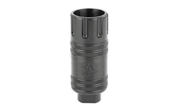 Black Rain Ordnance Muzzle Flash Regulator, 556NATO/308 Win, Black Finish BRO-MFR-LT, UPC :643451992342