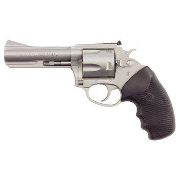 """Charter Arms Bulldog, Revolver, 44 Special, 4.2"""" Barrel, Steel Frame, Stainless Finish, Rubber Grips, 5Rd, Fired Case 74442, UPC :678958744422"""