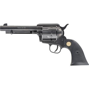 "Chiappa Firearms SAA 22-10, 22LR/22WMR, 5.5"" Barrel, Alloy Frame, Black Finish, Plastic Grips, 10Rd CF340-160D, UPC :8053670711082"