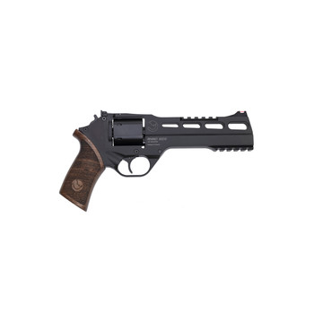 """Chiappa Firearms Rhino Single Action Revolver, Single Action Only, 357 Mag, 6"""" Barrel, Alloy Frame, Black Finish, 6Rd, 3 Moon Clips CF340-248, UPC :8053670714182"""