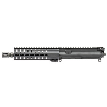 "CMMG Upper MK4 PDW 300 AAC Blackout 8"" 1:7 M16 Bolt Group, RKM 7"" KeyMod Handguard, Low Profile Gas Block, Black 30B8188, UPC :815835012032"