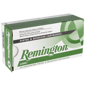 Remington UMC, 357MAG, 125 Grain, Jacketed Soft Point, 50 Round Box 23738, UPC : 047700169002