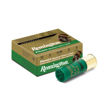 "Remington Premier Magnum High Velocity, 12 Gauge, 3.5"",  2.25 oz, #4, 10 Round Box 26847, UPC : 047700304502"