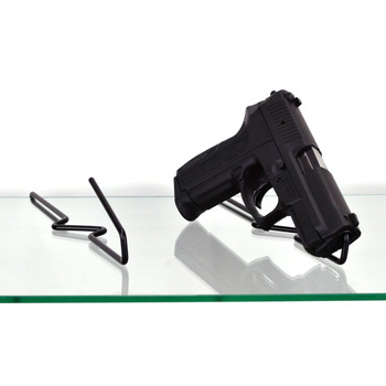 Gun Storage Solutions Handgun Back Kikstands, Vinyl Coated, Fits Guns As Small As .22 Caliber, 1 Per Stand, Free Standing BKIK10, UPC :856691002232