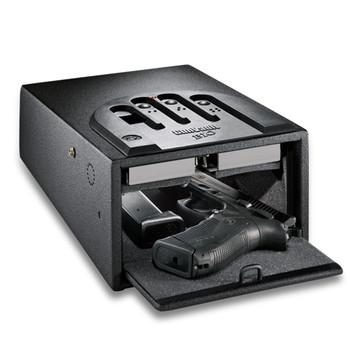 "GunVault Biometric GVB1000 Safe, 8.1""x4.9""x12"", Black GVB1000, UPC :751077123092"