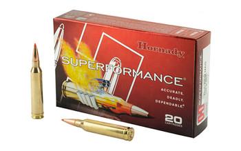 Hornady Superformance Ammunition, 7MM Rem, 139 Grain, SST, 20 Round Box 80593, UPC : 090255805932