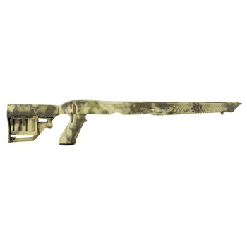 Adaptive Tactical Stock, Kryptek Highlander pattern, Rug 10/22 1081053, UPC :751103010532