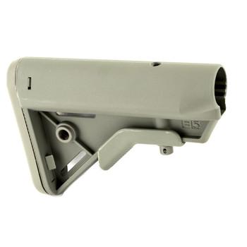 B5 Systems BRAVO Stock, Mil Spec, Quick Detach Mount, Foliage Green BRV-1087, UPC :814927020092