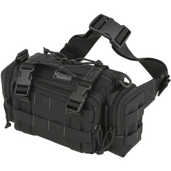 "Maxpedition Proteus Versipack Bag, 9""x6""x3"", Black 0402B, UPC :846909000112"