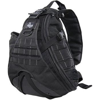 "Maxpedition Gearslinger Monsoon Backpack, 18""X15""X6"", Black 0410B, UPC :846909001492"