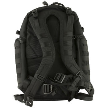 """Maxpedition Tiburon Backpack, 17""""X12""""X20"""", Quick Release Straps, Tech Compartment Fits 13"""" Laptop, Main Compartment Has Hydration Reservoir and Dual Hydration Tube Ports, Nylon, Black TBRBLK, UPC :846909021292"""