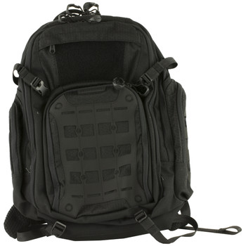 "Maxpedition Tiburon Backpack, 17""X12""X20"", Quick Release Straps, Tech Compartment Fits 13"" Laptop, Main Compartment Has Hydration Reservoir and Dual Hydration Tube Ports, Nylon, Black TBRBLK, UPC :846909021292"
