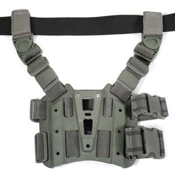 BLACKHAWK! Tactical Drop-Leg SERPA Holster Platform, Foliage Green Finish 432000PFG, UPC :648018033292