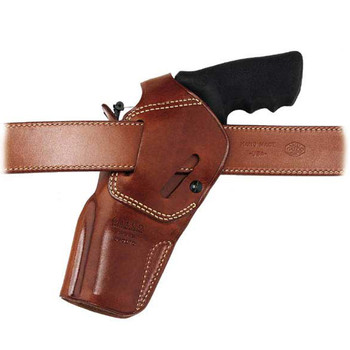 """Galco Outdoorsman Belt Holster, Fits S&W N-Frame 4"""", Right Hand, Tan DAO126, UPC :601299177352"""