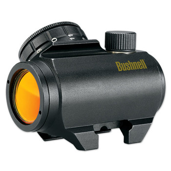 Bushnell TRS-25, Red Dot Sight, 25mm, 1X, Fits Picatinny, 3 MOA, with CR2032, Matte Finish 731303, UPC : 029757731302