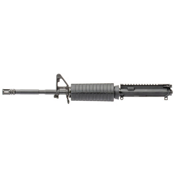 "CMMG Upper, 9MM, 16"" Barrel, Flat Top, A2 Front Sights, Black Finish 90B1AA2, UPC :852005002332"