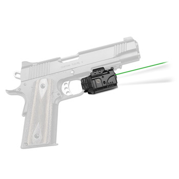 Crimson Trace Corporation RailMaster Green Laser and Tactical Light, Universal Rail Mount, Black Finish CMR-204, UPC :610242005222