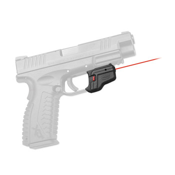 Crimson Trace Corporation Defender Series, Accu-Guard Laser, Fits Springfield XD and XD(M), Black Finish DS-123, UPC :610242004492