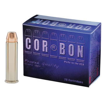 CorBon Self Defense, 357MAG, 125 Grain, Jacketed Hollow Point, 20 Round Box 357125, UPC :757750357082