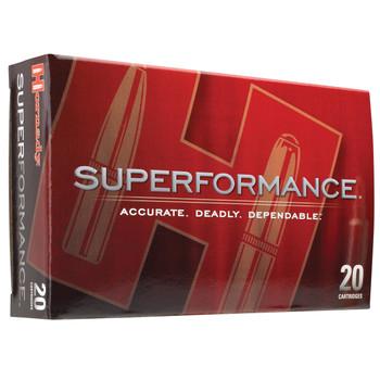 Hornady Superformance, 280 Rem, 139 Grain, SST, 20 Round Box 81583, UPC : 090255815832