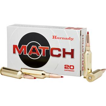 Hornady Match, 300 Winchester, 195 Grain, ELD Match, 20 Round Box 82180, UPC : 090255821802