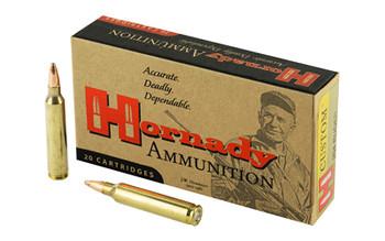 Hornady Custom, 204 Ruger, 45 Grain, Soft Point, 20 Round Box 83208, UPC : 090255832082