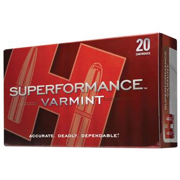 Hornady Superformance Varmint, 223 Rem, 35 Grain, NTX, Lead Free, 20 Round Box 83266, UPC : 090255832662