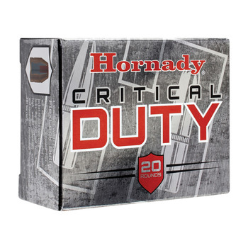 Hornady Critical Duty, 10MM, 175 Grain, FlexLock Duty, 20 Round Box 91256, UPC : 090255912562