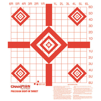 REDFIELD PREC SIGHT-IN TARGET 10PK UPC: 076683473882