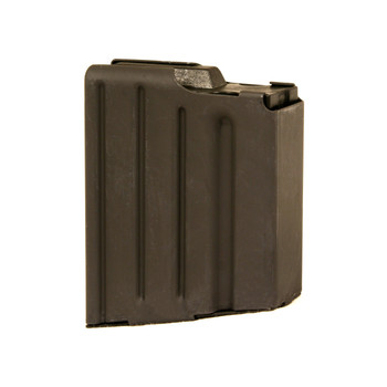 Ammunition Storage Components Magazine, 308 Win, Fits AR Rifles, 5Rd, Stainless, Black 308-5RD-SS, UPC :818805010472