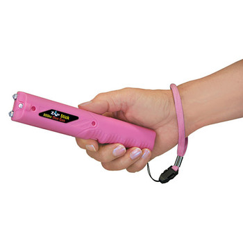 PS Products ZAP Stick, Stun Gun with Light, Pink, 800,000 Volts, 2x CR2 Batteries ZAPSTK800FP, UPC :797053100602
