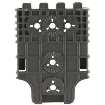 Safariland Model 6004-22 Quick Locking System - Receiver Plate (QLS 22), Single Kit Only, Black Finish 6004-22-2, UPC :781607090532