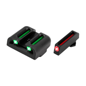 Truglo Brite-Site Fiber Optic Sight, Fits High Glock 45/10mm TG131G2, UPC :788130080702