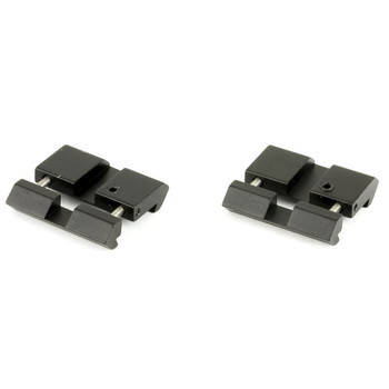 Leapers, Inc. - UTG Base, Fits .22/Airgun to Picatinny/Weaver Rails, Low Pro Snap-In Adaptor MNT-DT2PW01, UPC :4712274529052
