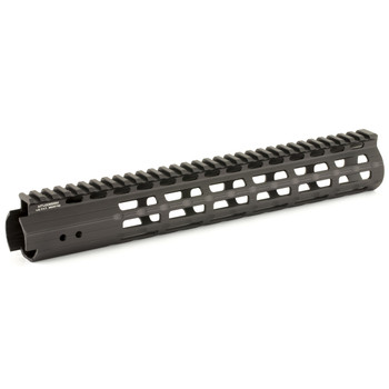 "Leapers, Inc. - UTG Handguard, Fits AR Rifles, 13"" Super Slim, Free Float M-LOK, Black MTU006SSM, UPC :4717385551572"