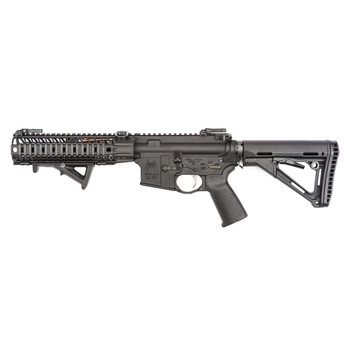 Spike's Tactical ST Compressor, Semi-automatic Rifle, 223 Rem/556NATO, 8.1 Barrel, Black Finish, Magpul AFG2 Angled Fore Grip, Forged, No Suppressor, Must Buy LRS-1 Suppressor (SPKC3S55LR) Separately, No Mag STR5110-NOS, UPC :815648022532