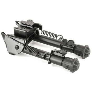 "Leapers, Inc. - UTG Tactical Op Bipod, Fits Picatinny or Weaver Rail, 5.9"" - 7.3"", with QD Lever Mount, Black TL-BP78Q, UPC :4712274522862"