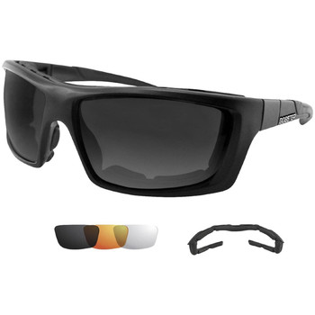 Bobster Trident Convertible Polarized Smked Clr and Ambr, UPC :642608039022