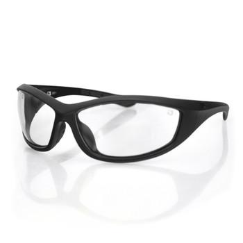 Bobster Zulu Ballistics Eyewear-Black Frame-Anti-fog Clear, UPC :642608045092
