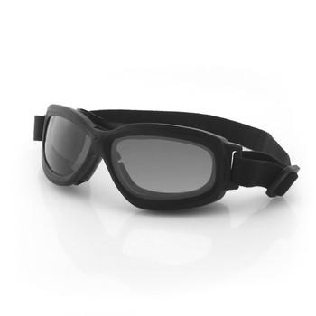 Bobster Bravo 2 Ballistic Goggle-Blk Frame-3 Anti-fog Lenses, UPC :642608047492