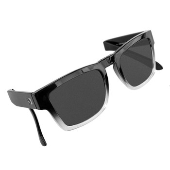 Bobster Brix Folding Sunglasses-Gloss Grad Frame/Smoked Lens, UPC :642608047942
